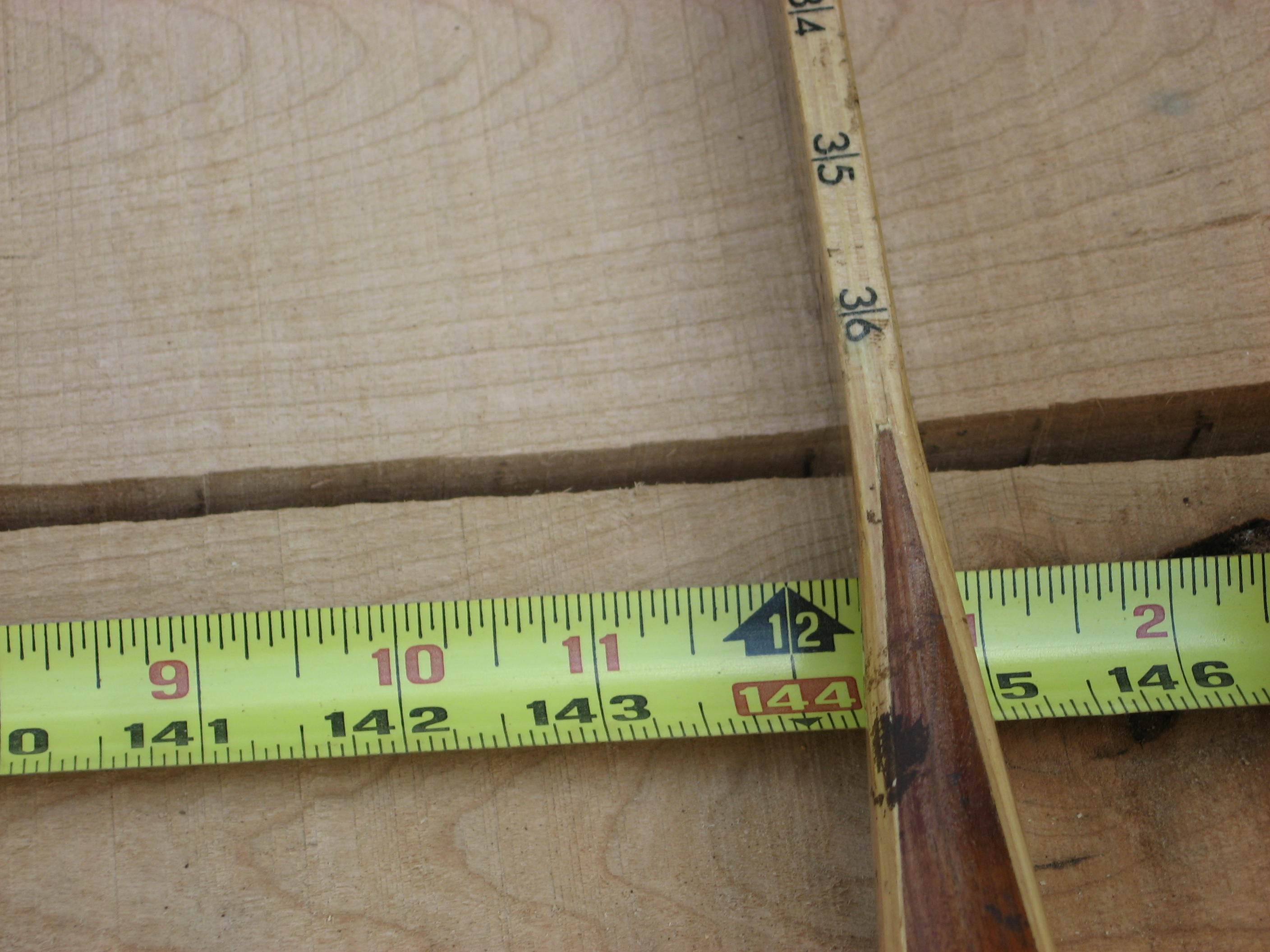 4/4 +1/8 over grade cherry lumber, random widths and 8-12 ft lengths.